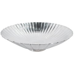 Mid-Century Modern Sterling Silver Bowl by Georg Jensen
