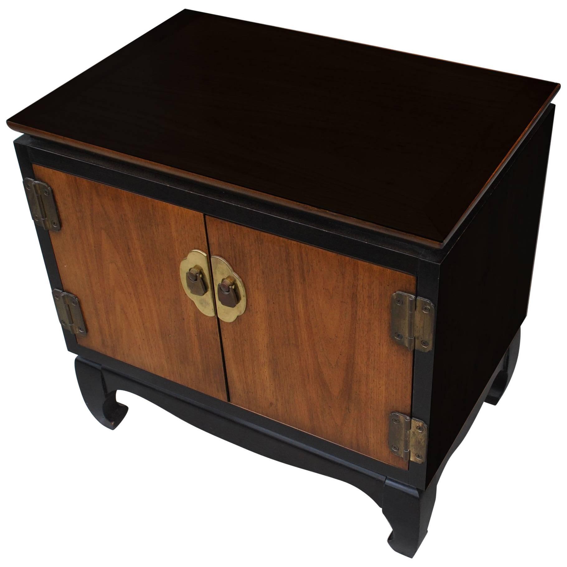 Vintage Midcentury Chin Hua Nightstand By Lane Furniture