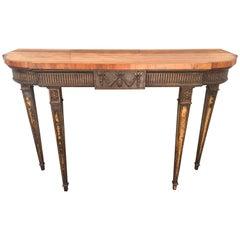 18th Century Adams Console Table