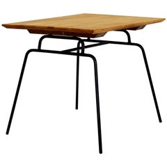 Mid-Century Modern McCobb Planner Group Winchendon Maple & Iron End Table, 1950s