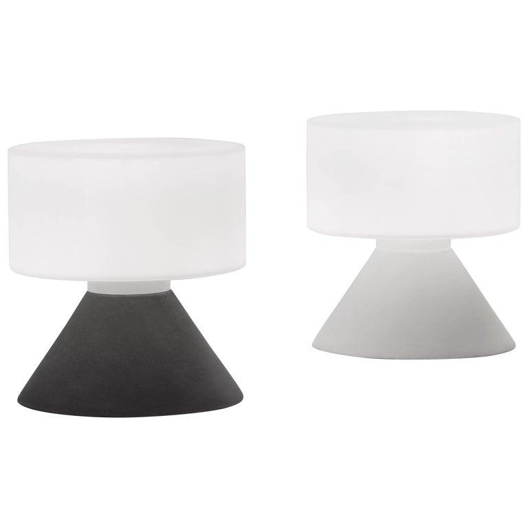 Samuli naamanka concrete table lamp for innolux oy