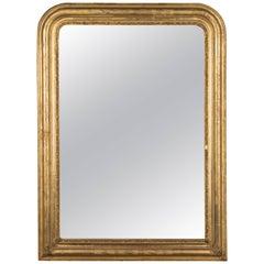 19th Century Louis Philippe Gilded Mirror