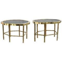 Pair of Rock Crystal Quartz Cocktail Tables
