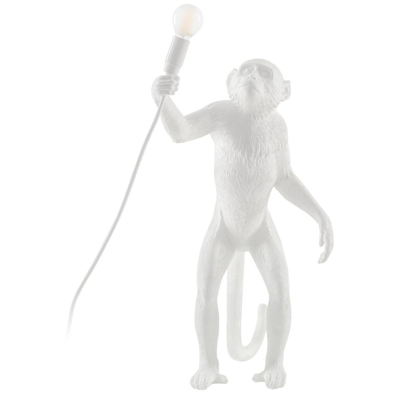"Seletti Resin Lamp ""Monkey Lamp-Us""- Standing"