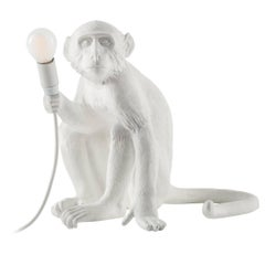 "Seletti Resin Lamp ""Monkey Lamp-Us"", Sitting"