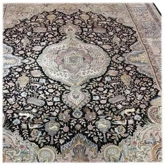 Ancient, Designer Master Nami Genuine Hand-Knotted Persian Tabriz Rug or Carpet