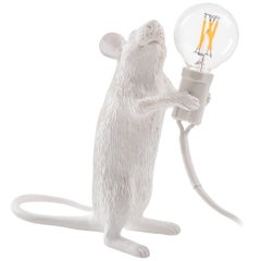 "Seletti ""Mouse Lamp#1-Us"" Resin Lamp, Standing"