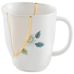 """Seletti """"Kintsugi-N'1"""" Mug in Porcelain"""