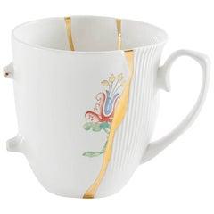 """Seletti """"Kintsugi-N'3"""" Mug in Porcelain"""