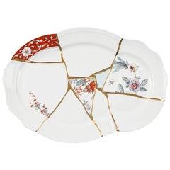 "Seletti ""Kintsugi"" Tray in Porcelain"