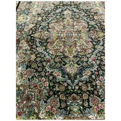 Garden 2- Designer Master Salari Hand-Knotted Persian Tabriz Rug/Carpet
