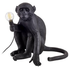 "Seletti ""Monkey Lamp-Outdoor-Us"" Resin Lamp, Sitting"