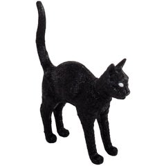 "Seletti ""Cat Lamp Jobby"" Resin Lamp, Black"