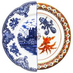 """Seletti """"Hybrid-Isaura"""" Dinner Plate in Porcelain"""