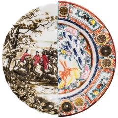 """Seletti """"Hybrid-Eusapia"""" Dinner Plate in Porcelain"""