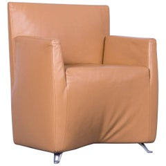 Baleri Italia Caprichair Designer Armchair, Brown One-Seater