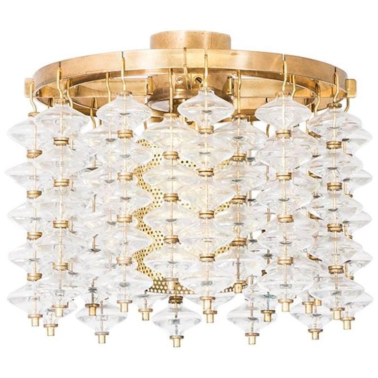 Hans-Agne Jakobsson Ceiling Lamp Model T-581/H by Hans-Agne Jakobsson AB