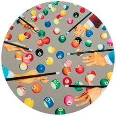 Seletti Round Mirror 'Toiletpaper, Snooker