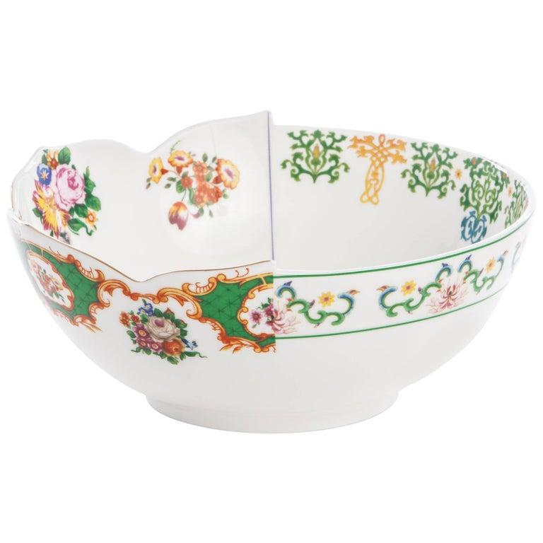 "Seletti ""Hybrid-Zaira"" Salad Bowl in Porcelain"
