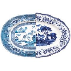 "Seletti ""Hybrid-Diomira"" Tray in Porcel"