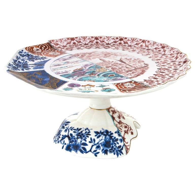 "Seletti ""Hybrid-Moriana"" Porcelain Cake-Stand"