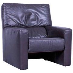 Brühl & Sippold Visavis Designer Armchair, Brown One-Seater
