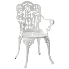"Aluminium Armchair ""Industry Garden Furniture"" by Seletti, White"