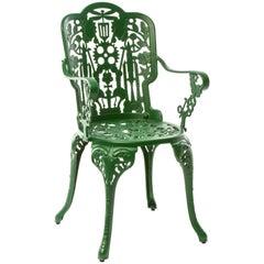 "Aluminium Armchair ""Industry Garden Furniture"" by Seletti, Green"
