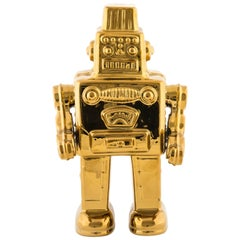 "Seletti ""Limited Gold Edition"" Porcelain My Robot"