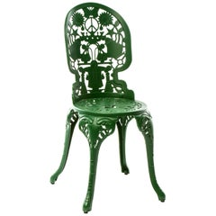 "Aluminium Chair ""Industry Garden Furniture"" by Seletti, Green"