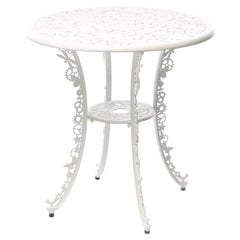 "Aluminum Table ""Industry Garden Furniture"" by Seletti, White"
