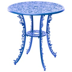 "Aluminum Table ""Industry Garden Furniture"" by Seletti, Sky Blue"