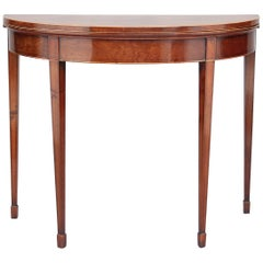 Early 19th Century Mahogany Card Table