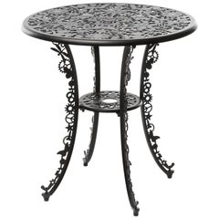 "Aluminium Table ""Industry Garden Furniture"" by Seletti, Black"