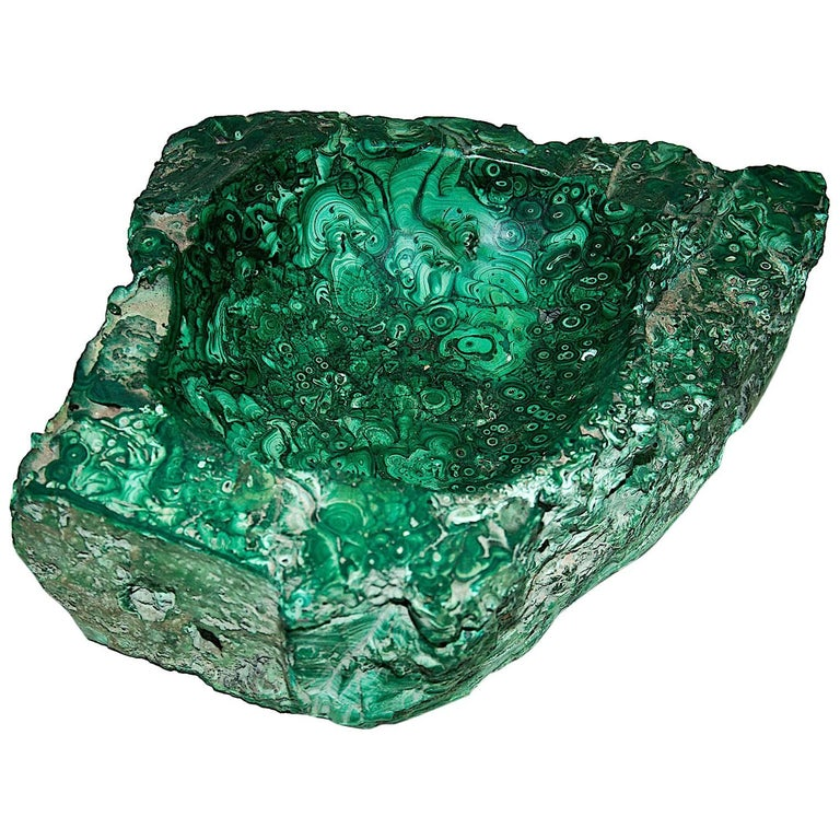 Huge 25kg Vide-Poche in Malachite