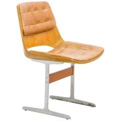 """Marina"" Side Chair, Jorge Zalszupin, Brazilian Midcentury"