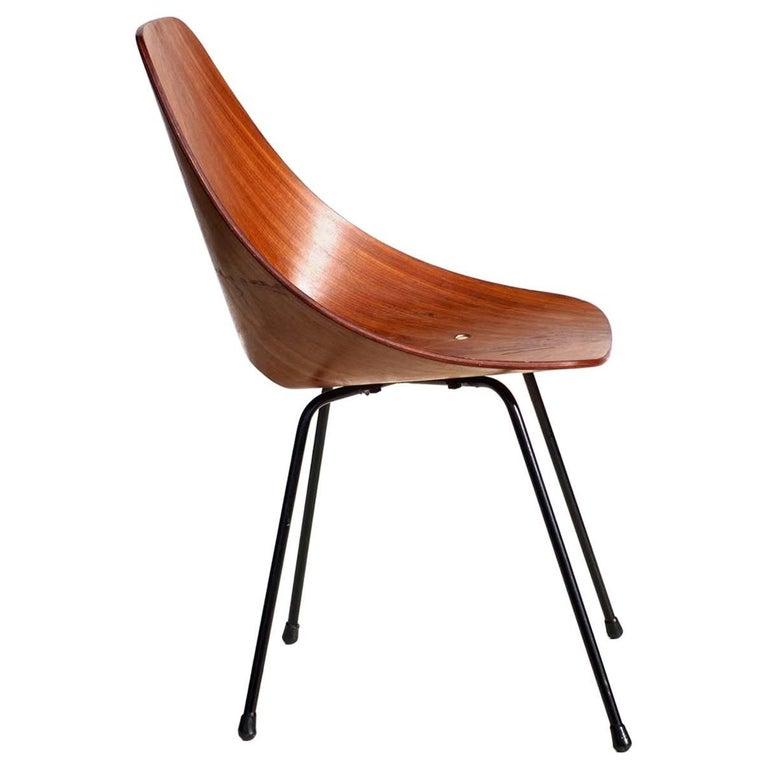 """Medea"" by Vittorio Nobili Italian Midcentury Design Bentwood Chair"