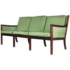 Danish Modern Sofa by Ole Wanscher for Poul Jeppesen Møbelfabrik, 1950s
