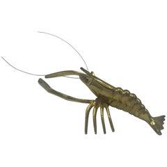 1960s Italian Brass Lobster Sculpture