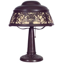 American Mission Bronze Table Lamp 'Heintz Art Metal'