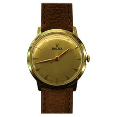 14-Karat Yellow Gold Rolex Men's Dress Watch