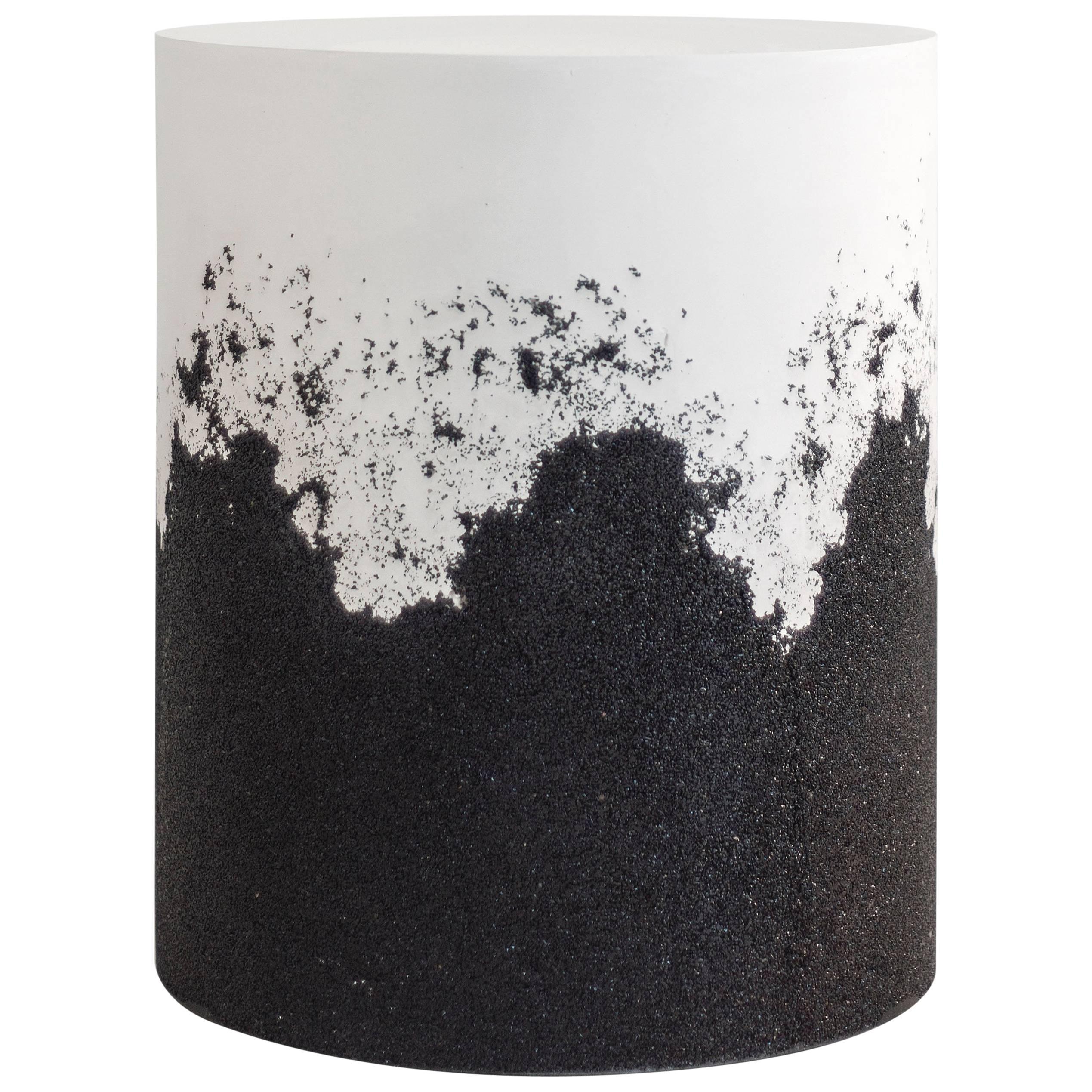 Drum, White Cement and Black Silica by Fernando Mastrangelo