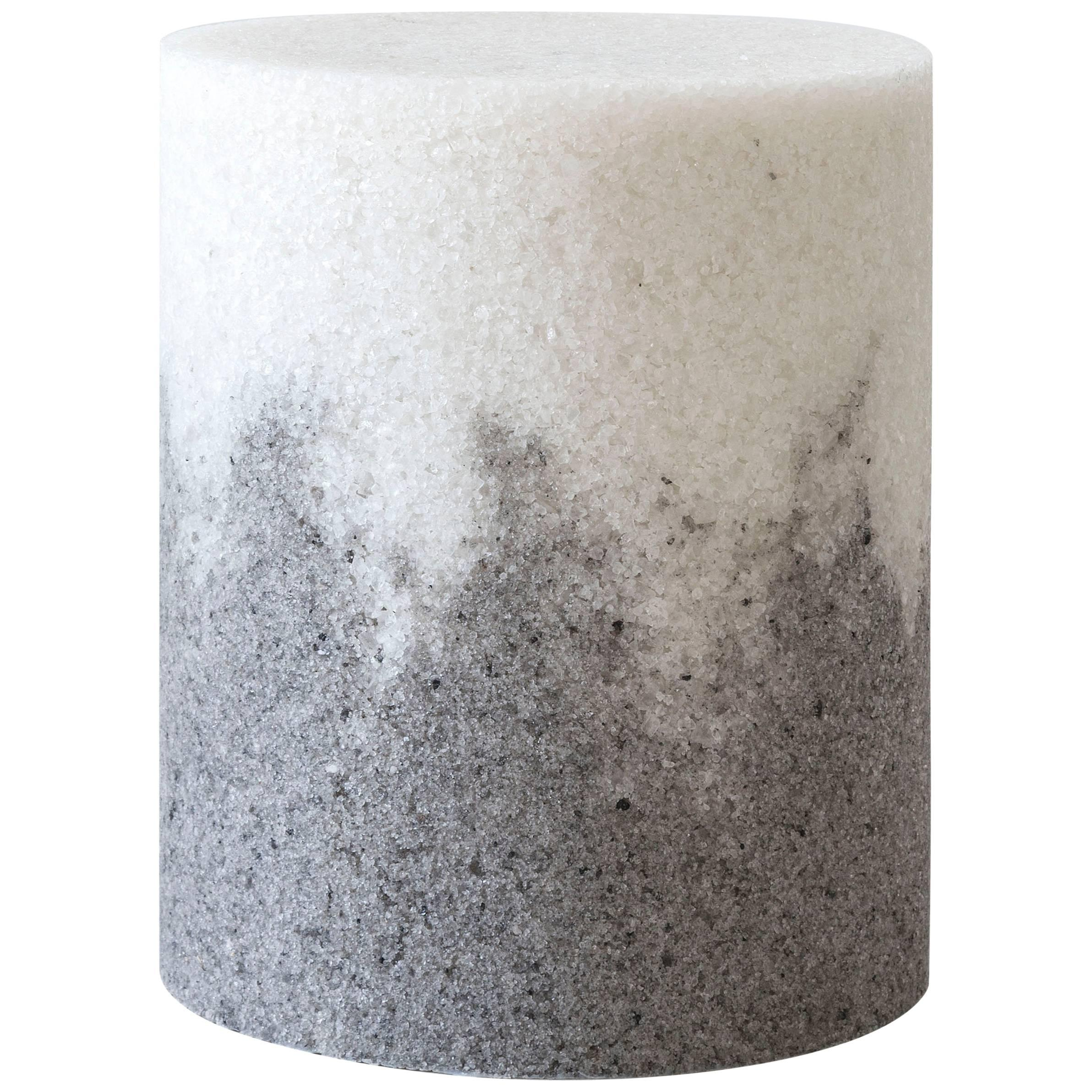 Drum, White Rock Salt and Grey Rock Salt by Fernando Mastrangelo