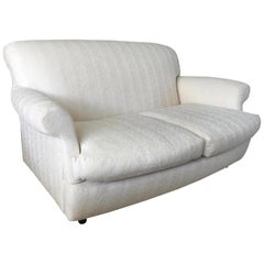 Vintage Palazzetti Loveseat in the Style of Jean Michel Frank