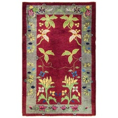 Antique Art Deco Chinese Rug