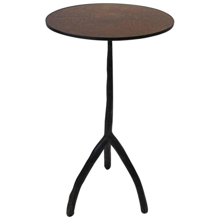 Patinated Bronze Sculptural Cocktail Table in the Liaigre Style