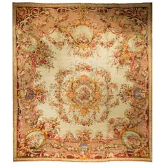 Antique Oversize French Savonnerie Rug, circa 1890 22' x 24'