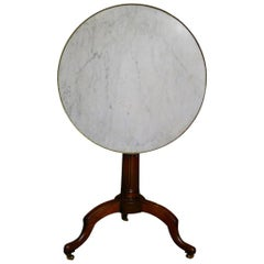 Louis XVI Mahogany Tilt-Top Gueridon, Late 18th Century