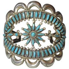 Native American Indian Fine Vintage Zuni Cuff