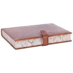 Faux Book Leather Jewelry Box